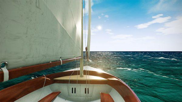 Il Mare e la Barca a Vela