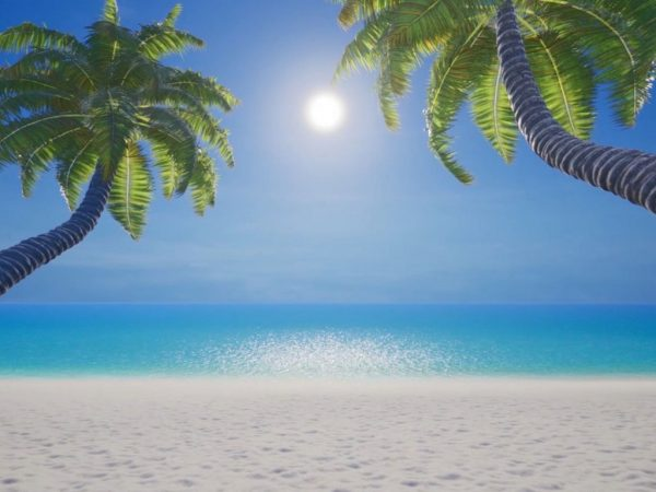 Augmented Psychology app - Beach