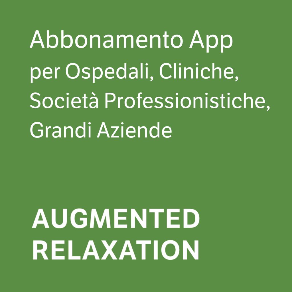 Augmented Relaxation Corner - Ospedali, Cliniche, Società Professionistiche, Grandi Aziende