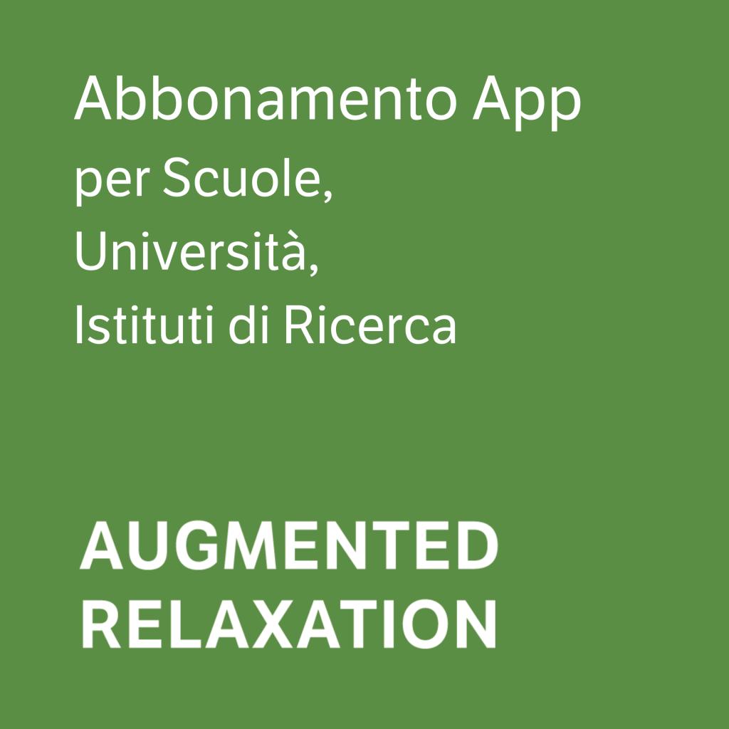 Augmented Relaxation Corner - Scuole, Università, Istituti di Ricerca